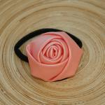 Pastel Pink Leather Rose H..